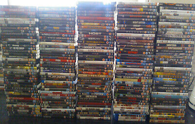 HUGE HORROR DVD COLLECTION- 200+ TITLES! Great for Halloween!