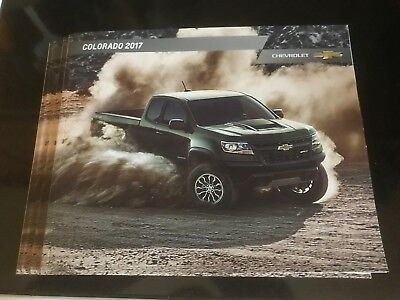 4 total 2017 Chevy COLORADO 42-page Original Sales Brochure