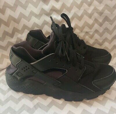 c85753b6ffeff 654275-020 Nike Huarache Run Grade School Kids Athletic Shoes - Black 6.5  YOUTH