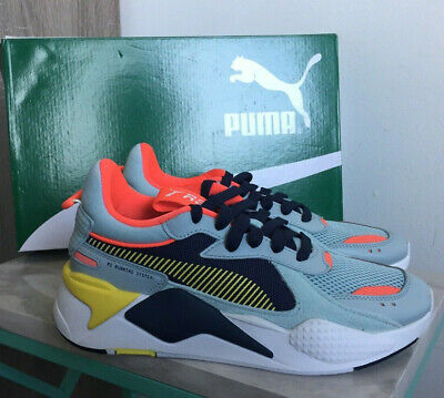 new product f1959 a4920 NIB Puma RS-X Reinvention 80 s Reboot Chunky Sky Blue Sneakers Retro Mens  6.5