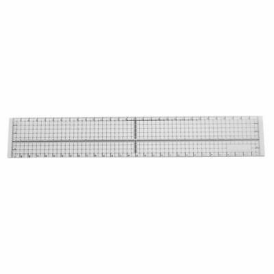 30cm DIY Sewing Patchwork Foot Aligned Ruler Quilting Grid Cutting Tailor C H4V3