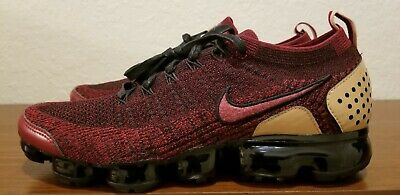 🔥🔥NEW Nike Air VaporMax Flyknit 2 NRG Team Red Black AT8955-600 Men's Size 11