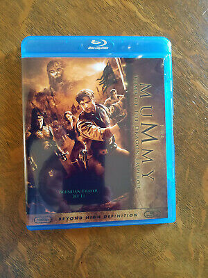 The Mummy: Tomb of the Dragon Emperor Blu-ray w/ custom cover!