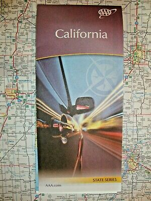 CALIFORNIA STATE MAP Travel Road Street Tour Guide Book Roadmap 2019 2020 AAA CA
