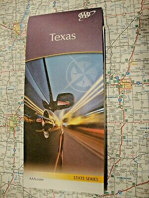 AAA TEXAS STATE TX Travel Road Map Vacation Roadmap 2018-2020 - FREE SHIPPING!