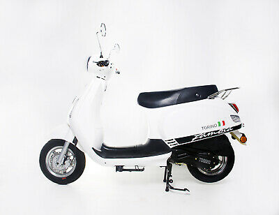 BRAND NEW 2020 TORINO FAMOSA 125cc LEARNER LEGAL SCOOTER WHITE –$2,690 RIDE-AWAY