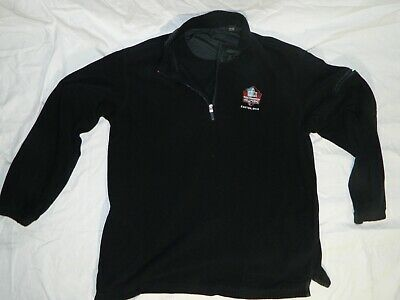 info for 92bdf ee3f2 NFL PRO FOOTBALL Hall of Fame Fleece Jacket by Greg Norman Size XL Canton