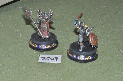 Fantasy WOW / - world of warcraft plastic 2 figures painted - (7509)