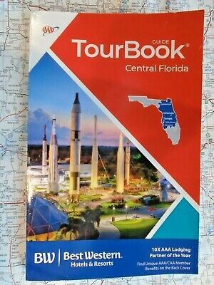 AAA CENTRAL FLORIDA TourBook Travel Guide Book 2019 FREE SHIPPING
