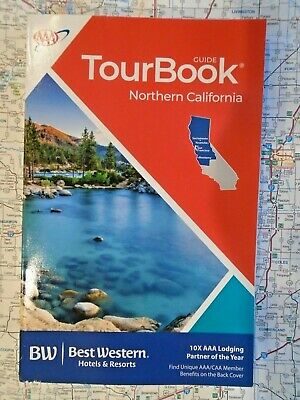AAA NORTHERN CALIFORNIA TourBook Travel Guide Book 2019 - 2020