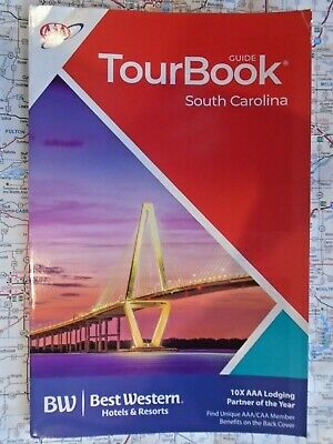AAA SOUTH CAROLINA SC Tour Book Travel Map Guide 2019 Road Trip MYRTLE BEACH