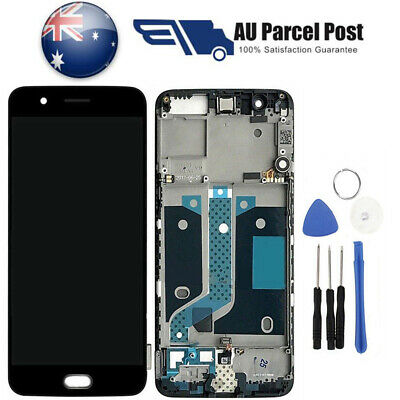 LCD Display Touch Screen Digitizer Assembly with Frame For One Plus 5 Five A5000