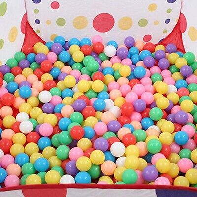 New Plastic Balls for Children For Ball Pits Kid Multi Coloured Toy Play Pool UK
