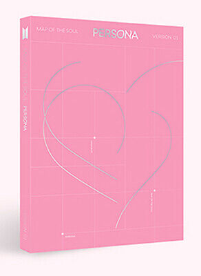 BTS - MAP OF THE SOUL : PERSONA [ver.-1] CD+Photobook+Photocard+Poster+Free Gift