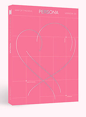 BTS BANGTAN BOYS - MAP OF THE SOUL : PERSONA [3 ver.] CD+Poster+Free Gift