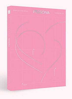 BTS - MAP OF THE SOUL : PERSONA [1 ver.] CD+Poster+4 Extra Photocards+Tracking