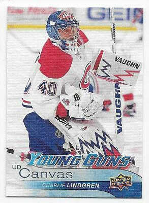 16/17 UPPER DECK SERIES 1 UD CANVAS YOUNG GUNS (#C91-C120) U-Pick From List