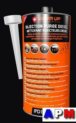 Nettoyant Injection Diesel Warm Up  ( 1 Litre )