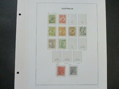ESTATE: Kangaroo's Collection on Pages - Must Have!! Great Value (e423)