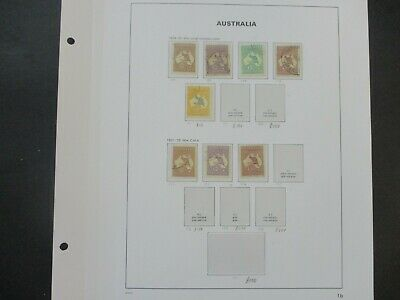 ESTATE: Kangaroo's Collection on Pages - Must Have!! Great Value (e425)