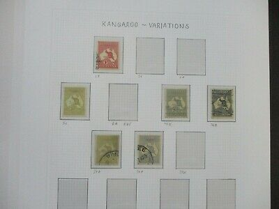 ESTATE: Kangaroo's Collection on Pages - Must Have!! Great Value (e426)
