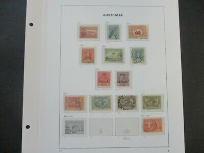 ESTATE: Australian Collection on Pages - Must Have!! Great Value (e427)