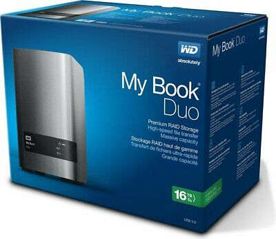 Western Digital WD My Book Duo 16 TB (mit 2 x 8 TB WD Red HDD WD80EFZX) – OVP