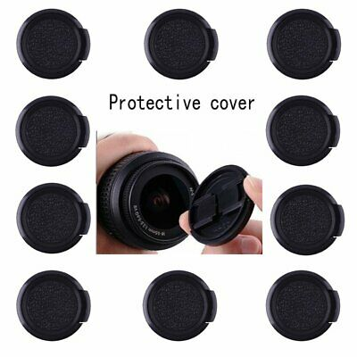 50pcs 37mm Snap On Front Lens Cap Cover for Canon Nikon Sony Pentax DSLR camera