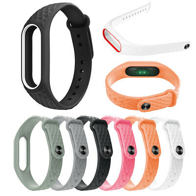 For XIAOMI MIBand 2 Silicone Wrist Strap WristBand Bracelet Replacement NEW JAD
