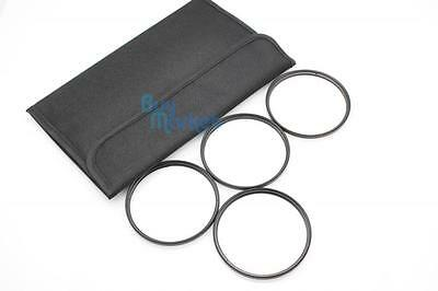 New 77mm Star 4X 6X 8X + UV (4pcs) Filter Kit Set with CASE (TRACKING NUMBER)
