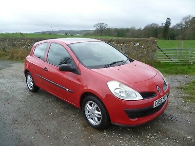 2007 Renault Clio 1.1 Extreme Red