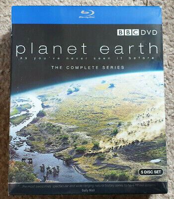 Blu Ray BBC Planet Earth The Complete Series New Sealed David Attenborough