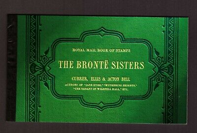 GB Great Britain 2005 Booklet The Bronte sisters mint stamps