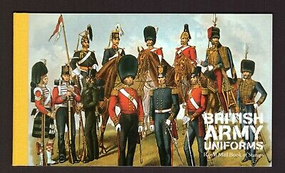 GB Great Britain 2007 Booklet British Army uniforms mint stamps