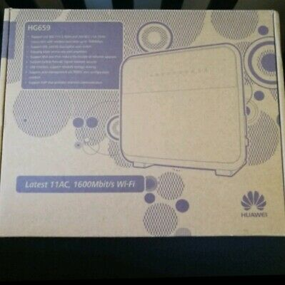 HUAWEI HG659 NBN Wireless 802 11ac Router / Modem / Home