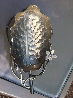 Art Nouveau Silver plated Dish Or Basket Made by John Grinsell And Sons C1900