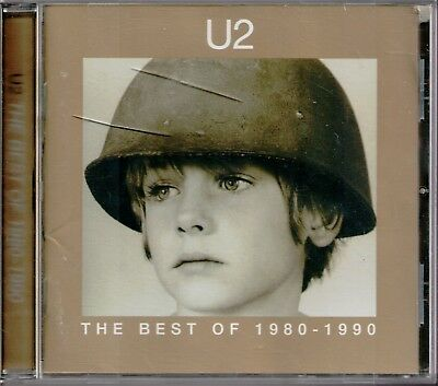 CD - U2 - Best of 1980-1990 (1998)