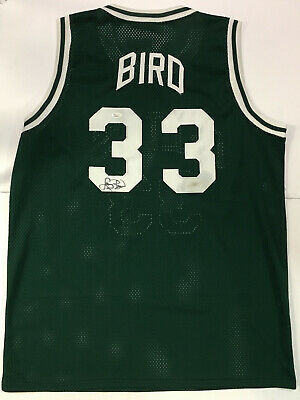 71a34c994be Larry Bird Signed Boston Celtics Basketball Jersey JSA Authenticated NBA Vtg