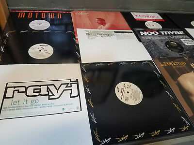 "R&B / Urban (1990's) - Lot of 30 12"" Singles DJ Vinyl Records US Promos RnB Soul"