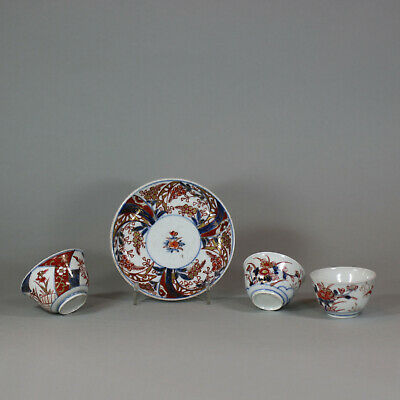 Antique Japanese saucers and teabowls (late 17th-18th century)