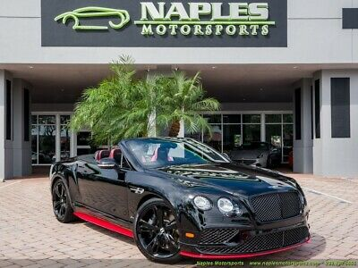 2017 Continental GT GTC Speed Convertible 2017 Bentley Continental GT GTC Speed Convertible, Amazing Condition, Low Miles!