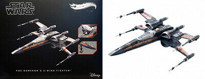 X-Wing Fighter Dameron Star Wars The Force Awakens Disney Hot Wheels Elite DHG08