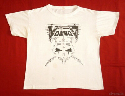 Voivod Vintage T Shirt 80's 1987 Tournado Concert Tour Away Killing Technology