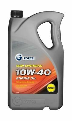 G-Force 10w40 Semi Synthetic Motor Engine Oil A3/B3 5L Litre