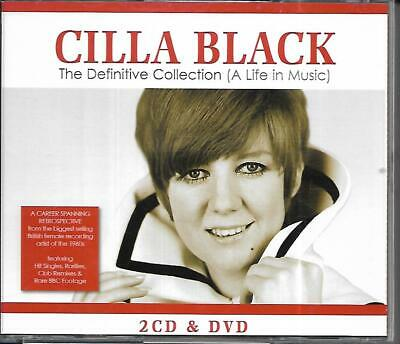 Cilla Black - The Definitive Collection - 2 X CD's + DVD Set