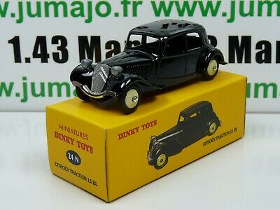 DT20 Voiture réédition DINKY TOYS atlas : 24N Citroën Traction 11 BL UK