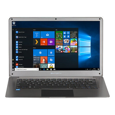 "Entity ENN1410 14.1"" Laptop Windows 10 32GB 2GB INTEL Cherry Trail Z8350 Wi-Fi"