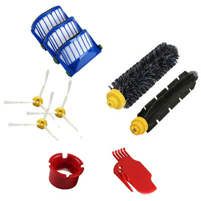 Robotic Vacuum Cleaner HEPA Filter Brush Replacement Parts For 600 Series
