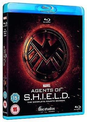 Marvel's Agents of S.H.I.E.L.D. SHIELD - Season 4 (Blu-ray, Region Free) *NEW*
