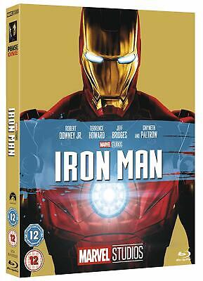 Iron Man w/ Limited Edition Slipcover (Blu-ray, 2008, Region Free) *NEW/SEALED*